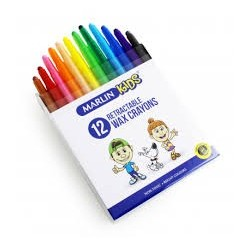 Marlin Kids retractable crayons 12's