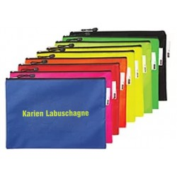 Add name nd surname on A4 Book bag